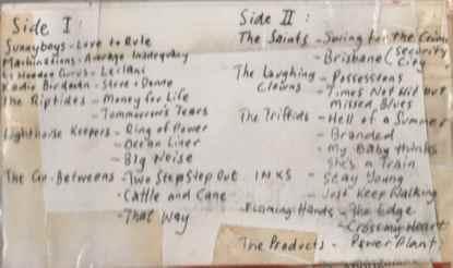 Rememmber Australia tape 1987